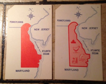 Delaware State Teaching Cards