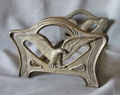 c1920s Patriotic Expanding Bookends with Bald Eagles