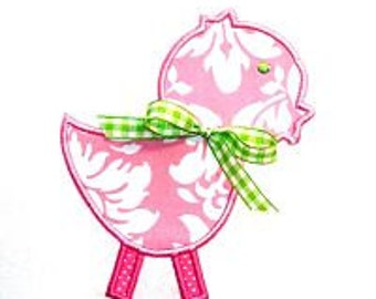 Machine Embroidery Design Embroidery Chick Applique INSTANT DOWNLOAD