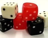 DICE SOAP - Bunco - Gambling - Vegas - Bunco Gifts - Set of 6 - Bunco Party Favors - Gift Under 10 - You Choose Scent and Color