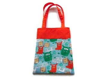 Fabric Gift Bag/Goodie Bag - Monsters