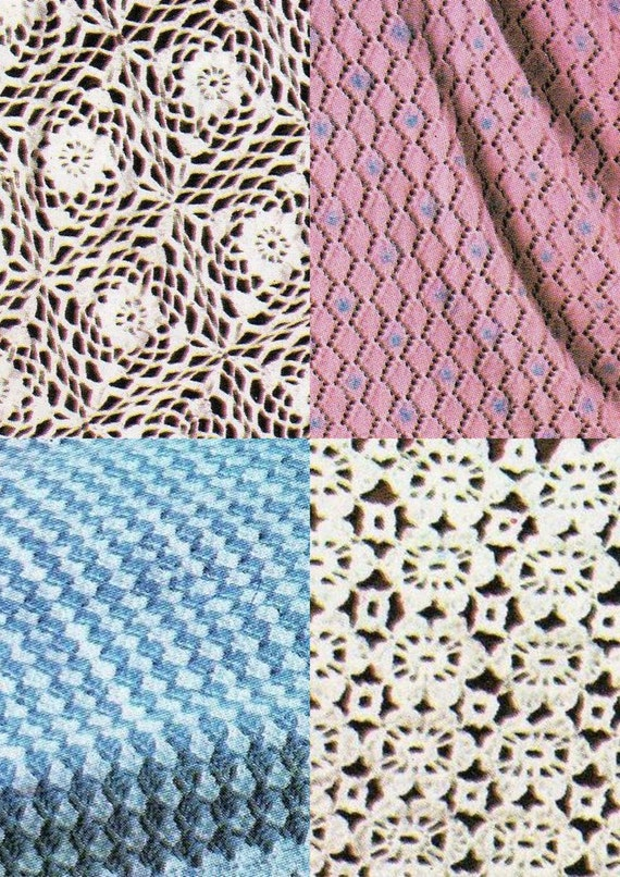 Crochet Baby Blanket Patterns 4 Ply : PDF Baby Blanket Patterns / 4 patterns in 1 / Baby blankets
