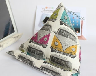 iPad or Samsung Tablet Padded Stand with Campervans