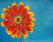 "Signed  Print - ""Daisy""  by artist Christi Dreese"