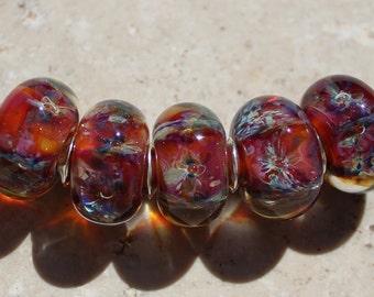 DAYBREAK Artisan boro beads by JRG