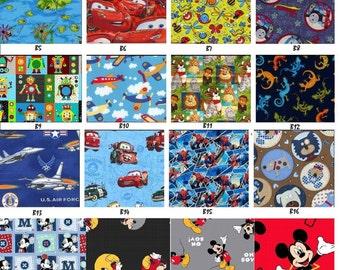 Boy Fabric Selection Chart ~ DO NOT Add to Cart