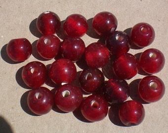 Big Red Cherry Beads