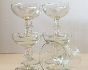1950's Libbey Coupe Glasses