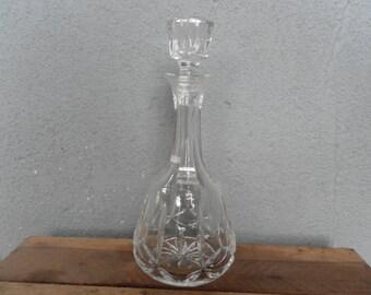 Vintage Cut Glass Decanter