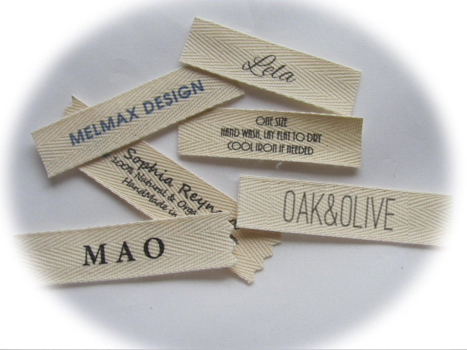 Name clothing labels sew in labels for your name boutique for How to sew labels on clothes