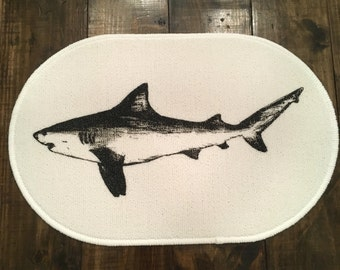 Shark Rug - Bath Mat or Door Mat