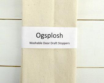 Door Draft Stopper, Unique Home Decor, Door Snake, Door Draft Blocker, Unique Gift, Cream Draft Stopper. 12.