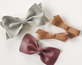 Rayne- Set of 4 bows/headbands