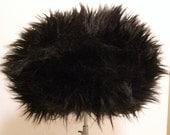 Vintage Designer Lucila Mendez Faux Fur Mod Women's Hat