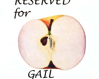 RESERVED for Gail