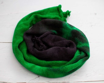 sock blank, gradient , hand dyed yarn