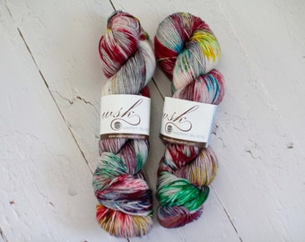 Aspen Sock yarn with nylon 'splat!'