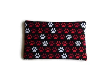 Fabric Tissue Holder -  Paw Print