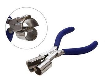 Miland Ring Bending Pliers Round/Half Round  3/4 Inch