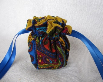 Traveling Jewelry Bag - Mini Size - Drawstring Jewelry Tote - CIRQUE DU SOLEIL
