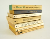 Reduced / Vintage Classic Plays Paperback Book Set of 7 / Shakespeare, Ibsen, Aristophanes, Euripides and Chekhov