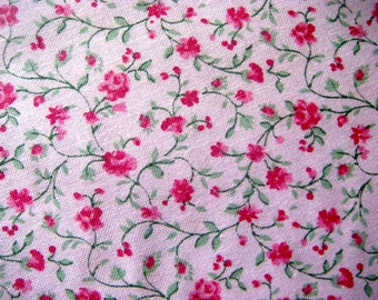 Small Floral Print Quilting Cotton Fabric 44 Inches Wide