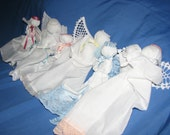 Custom order for abeachbubbie Angel Hanky Babies, Prayer Dolls, Church Dolls are handmade from Ohio