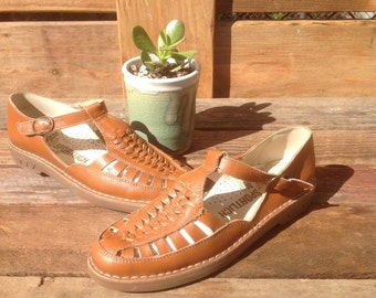 Vintage leather Rieker Mary janes- size 7.5