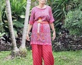 Made Tunic, Sizes XS/S, M/L, XL/2X, Bali Batik, Rayon, My Bali Closet