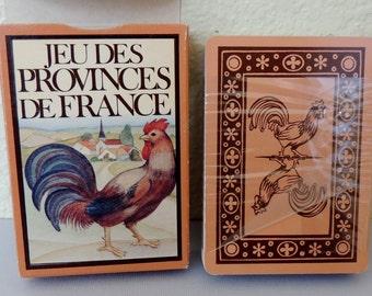 Jeudes Provinces De France Playing Cards, sealed deck