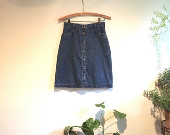 Gloria Vanderbilt denim Skirt - Vintage