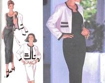 Style 2759 Sewing Pattern, 8-18, Ladies Dresses and Jacket, 1993 Original Pattern