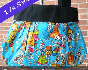 Day of the Dead/Calavera Tote/Purse