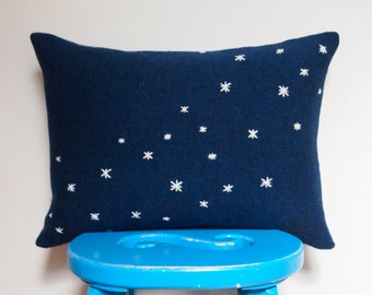 Starry Night Navy Cushion