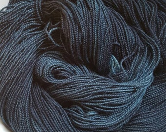 Juniper  Berries-- Pure Sock -- Hand Painted Superwash Merino Wool/Nylon Sock Yarn