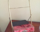 Victorian easel stand with drawer RESERVED