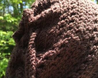 Slouchy Leaf Hat