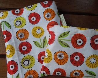 Reusable sandwich and/or snack bag - Sunflowers  -   DISCOUNTED