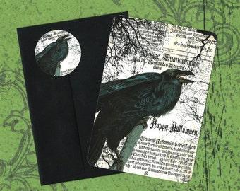 Halloween, Raven, Halloween Cards, Stickers, Crow, Happy Halloween