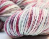 We Love Jack Frost - Hand Dyed Bulky Yarn on Arctic Fox Base Wool & Alpaca
