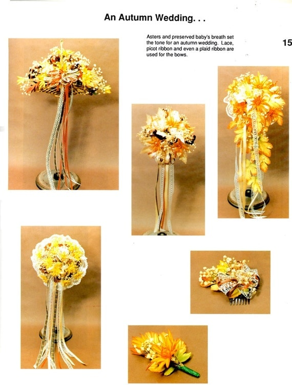how to make silk flower corsages and boutonnieres