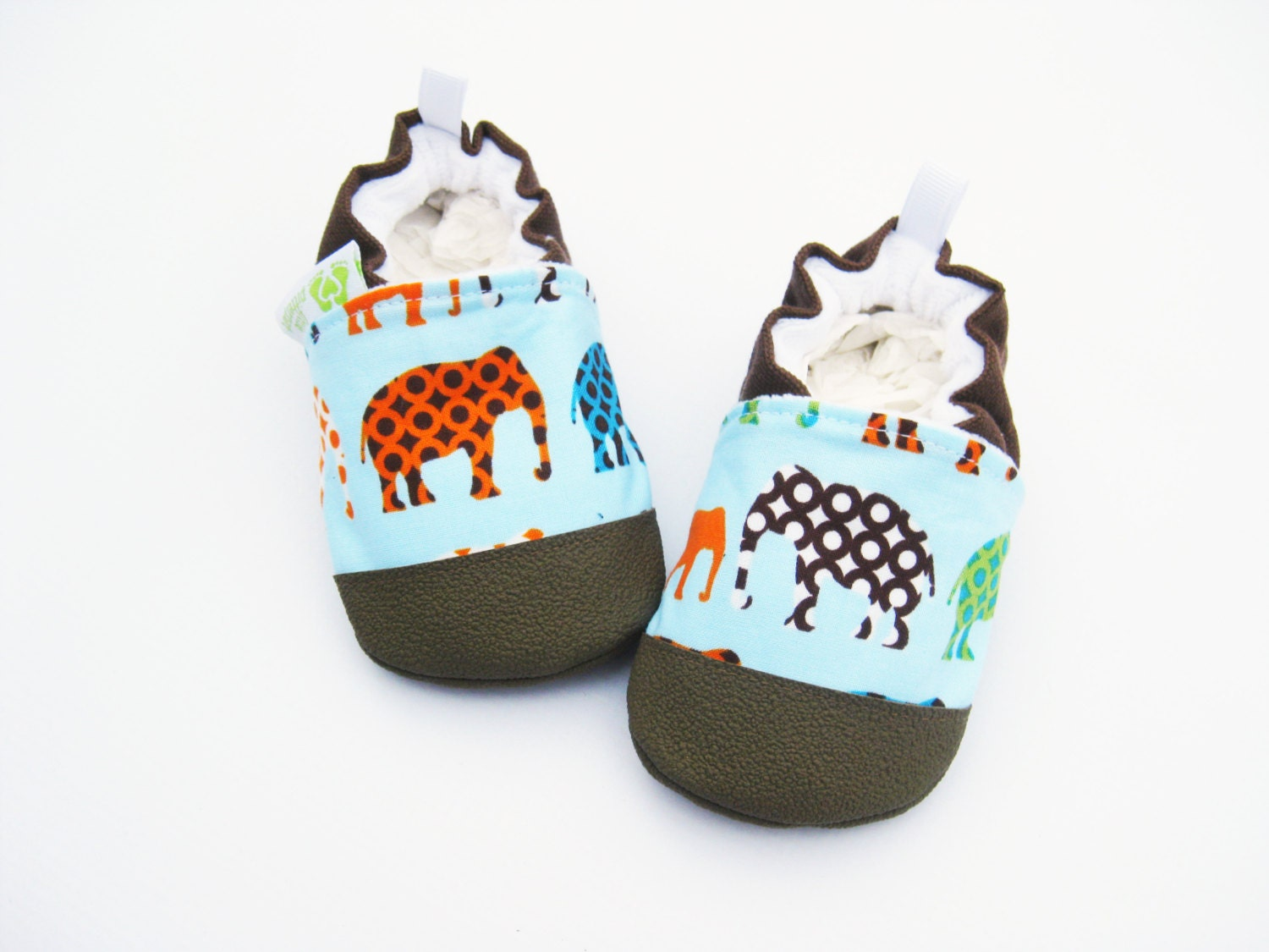 classic vegan elephant non slip soft sole baby shoes made