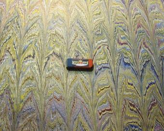"""1   マーブル紙"""" cm 50 x 70   .Bookbinding  supply,  papel marmorizado.. -  248d"""