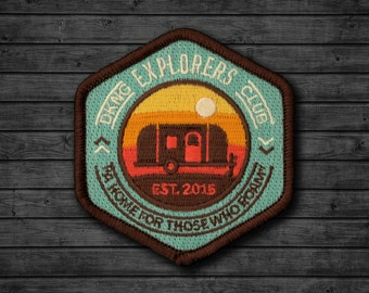 Explorers Club: Camper Embroidered Patch