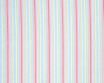 Pink Lulu pwtw0967SKY  Cotton Fabric by Tanya Whelan FreeSpirit Lulu Roses