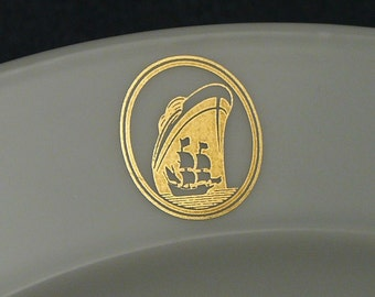 Rosenthal Holland American Cruise Ship Plate