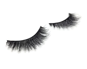 Handmade Eyelashes - Mink Out Loud - 100% Mink Fur False Eyelash Extensions - 1 Set  : 1060