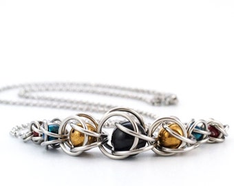 Captivation Swarovski Pearl and Stainless Steel Necklace