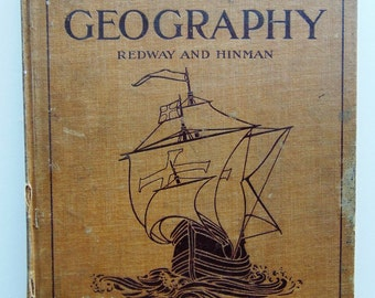 Antique Geography 1907