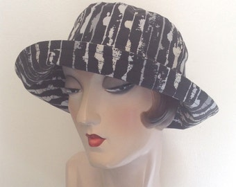 Cotton sun hat, La Boheme, travel hat, Sample sale